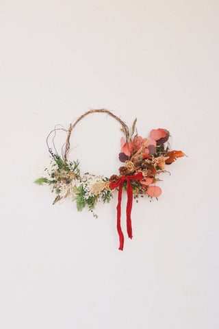 Christmas '19 | Rustic Christmas Wreath