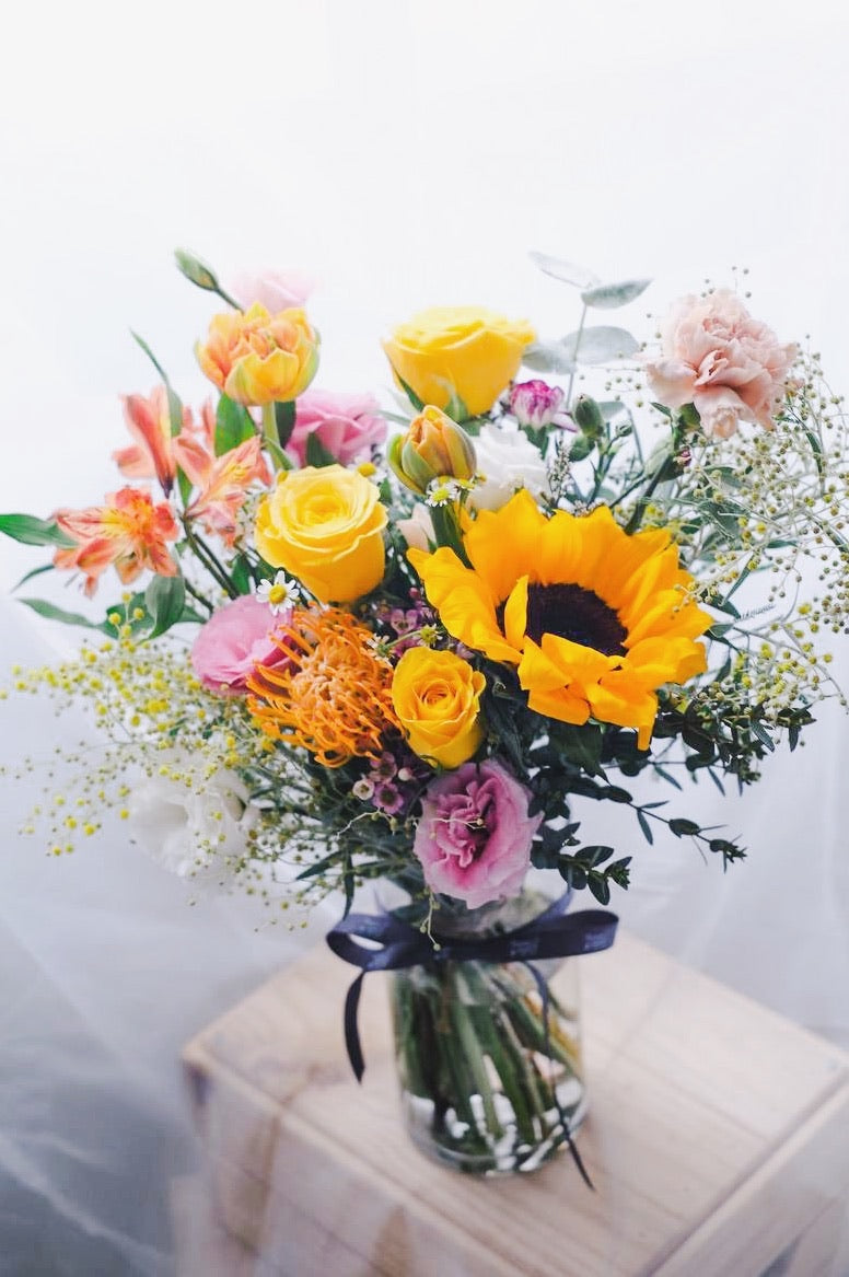 Sunshine in a Vase - Colourful and Bright