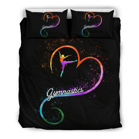 Gymnastics Lovers Bed Set