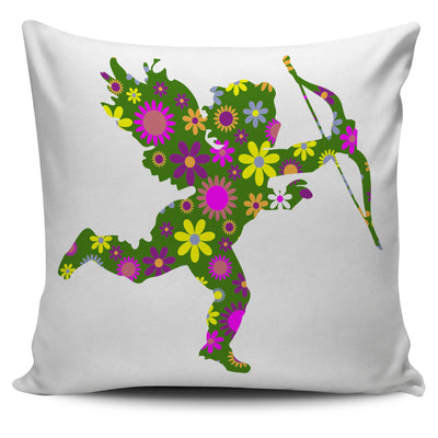 Angel Archer Retro Pillow