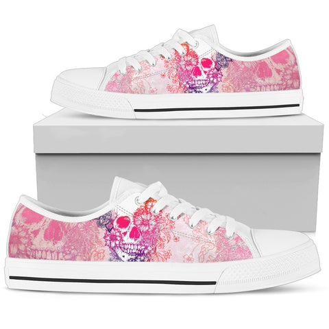 Flower Punk Women's Low Top Shoe