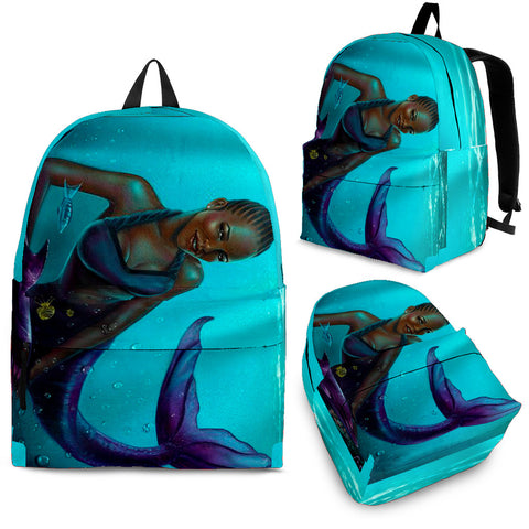 Black Mermaid Backpack
