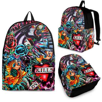 Tattoo Art Backpack