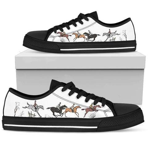 Horse Art Women's Low Top Shoe