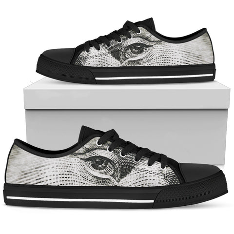 Men's Low Tops Abstract (Black Sole)