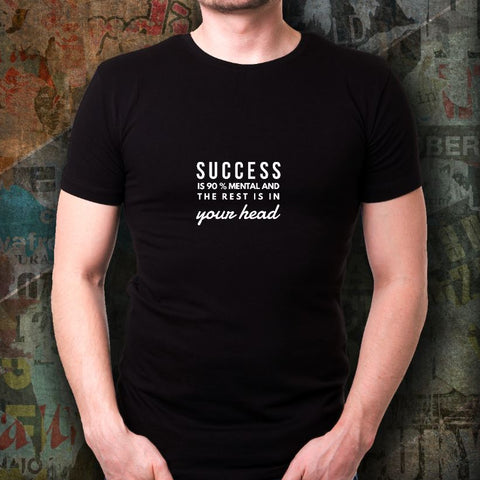 Success Is 90% Mental Short-Sleeve Unisex T-Shirt