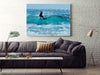 Large Canvas Modern Wall Art - Its Not Just About Being in the Water Its About Being Free Surf Print