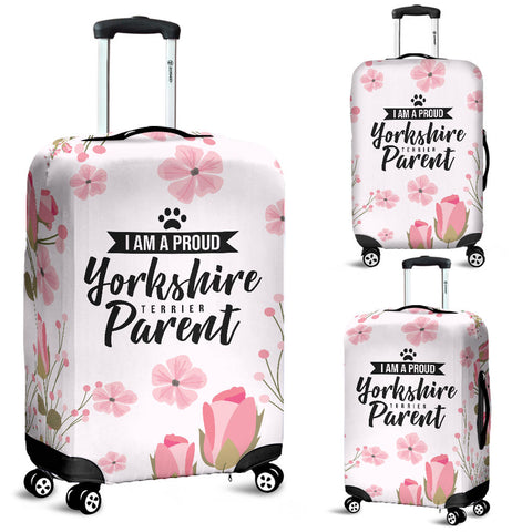 I am proud Yorkshire Terrier Parent Luggage Cover