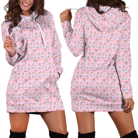 Chihuahua Dog Lovers Womens Hoodie Dress