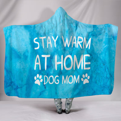 Stay warm at home  Hooded Blanket