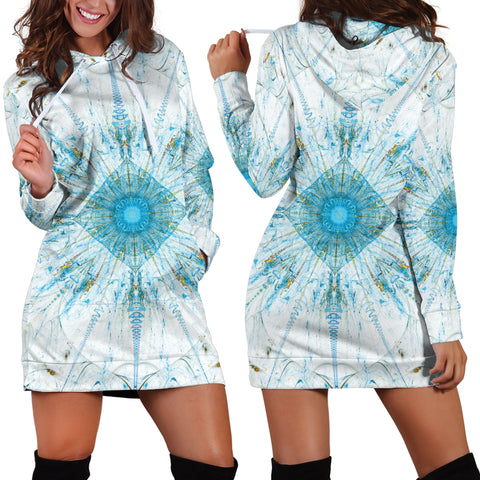 Daybreak Mandala Women's Hoodie Dress