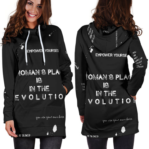 Empower Yourself Women's Hoodie Dress