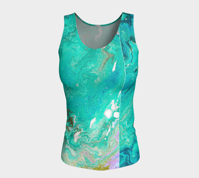 In the Ocean Fitted Vest Top Longer Length