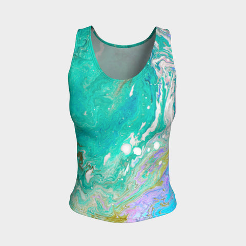 In the Ocean Fitted Vest Top Regular Length