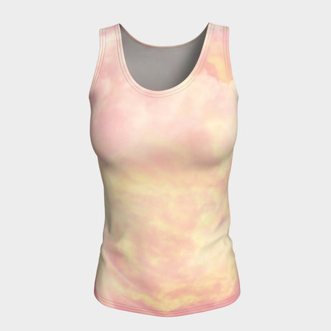 Summer Haze Fitted Vest Top Longer Length