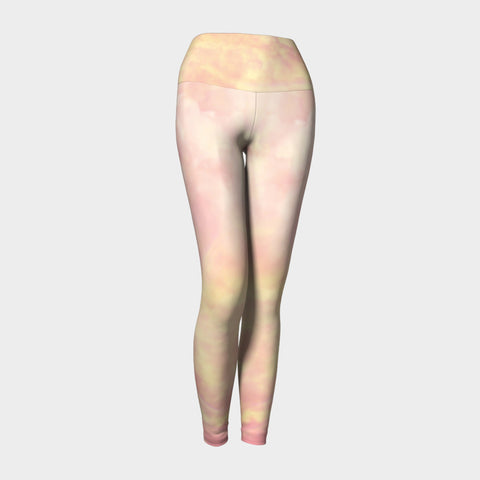 Summer Haze Yoga Leggings