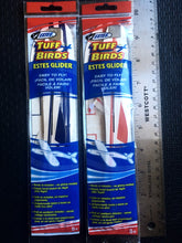 "TWO Estes 10.5"" Chuck Glider RED/BLUE PAIR"