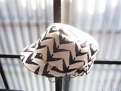 evo-see Handmade light weight CYCLE CAP Toriya-kasuri pattern by Tetra-milieu