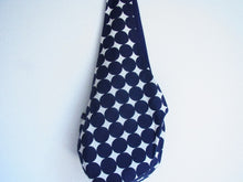 3-way and reversible RICE BAG by Bachica Navy Dot  BD03N