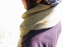 1883 Organic Sheep Farming Merino Wool Scarf - Rosemary - 18M4R