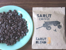 [INTRODUCTORY PRICE]SARUT COFFEE BLEND TRIAL KIT Whole Beans 25g x 3 Packs