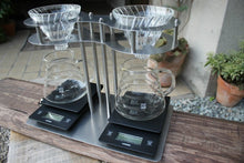 "Oyamazaki Coffee Roasters produce The ""eight"" Original Coffee Brewing Stand with bonus."