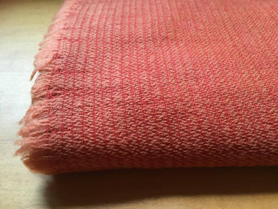 Organic Sheep Farming Merino Wool Scarf - Madder - by 1883 18M3M