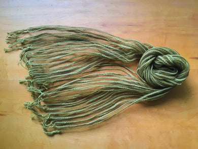 Cotton Slub Yarn × Silk Stole - Rosemary - by 1883 18S4R