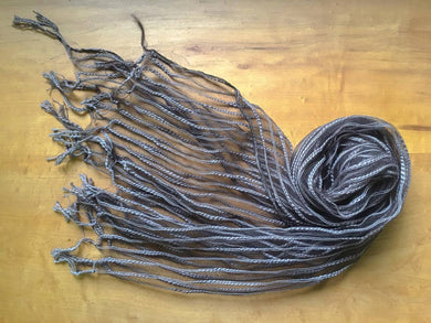 Cotton Slub Yarn × Silk Stole - Wildrose - by 1883 18S5W