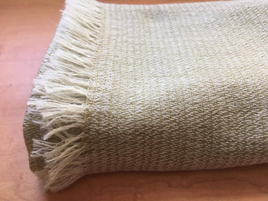 Organic Sheep Farming Merino Wool Scarf - Rosemary - by 1883 18M4R