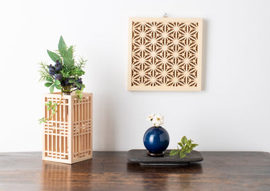 J LIFE gifts KUMIKO Wall decor Horned Asanoha