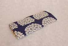 Bachica 3-way OTOFU POUCH size M Small Flowers Blue x White