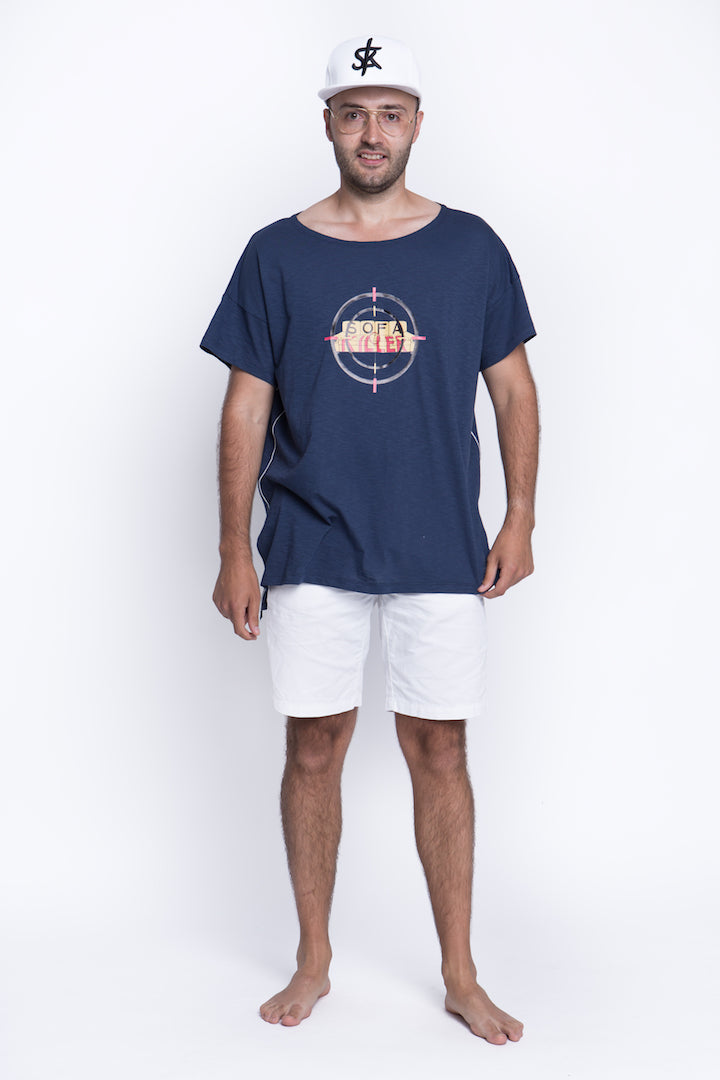 Sofa Killer navy summer t-shirt with application Target