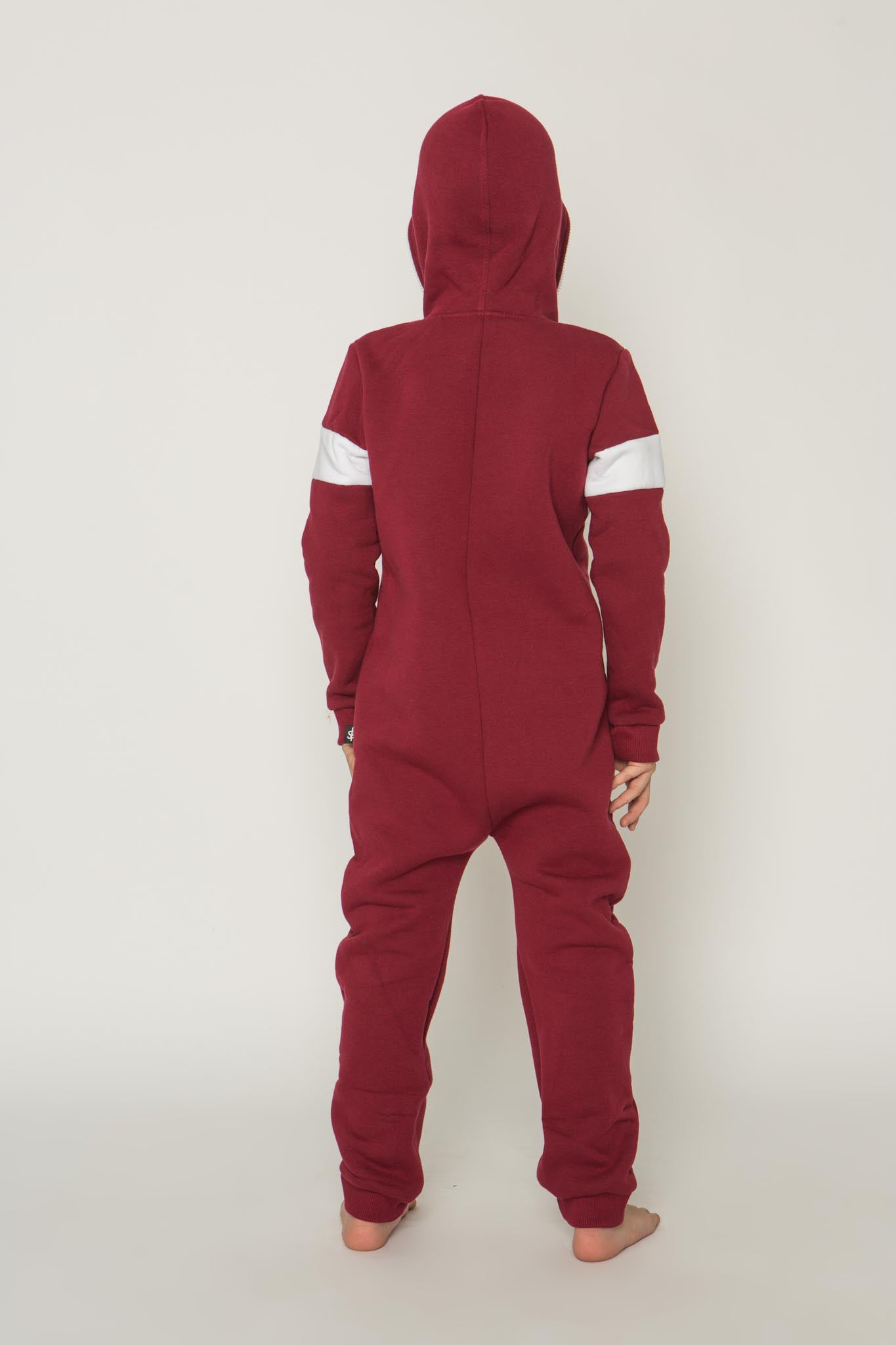 Sofa Killer burgundy unisex kids onesie Riga