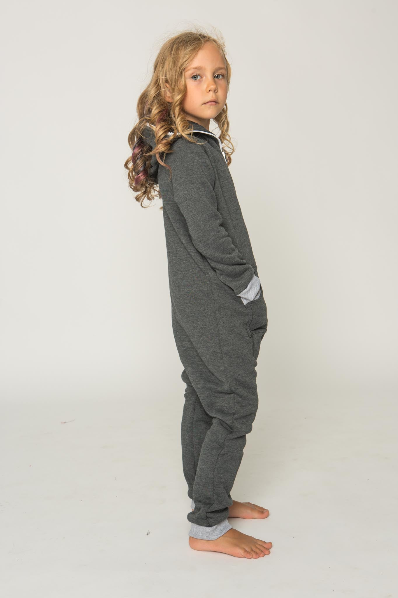 Sofa Killer dark grey unisex kids onesie