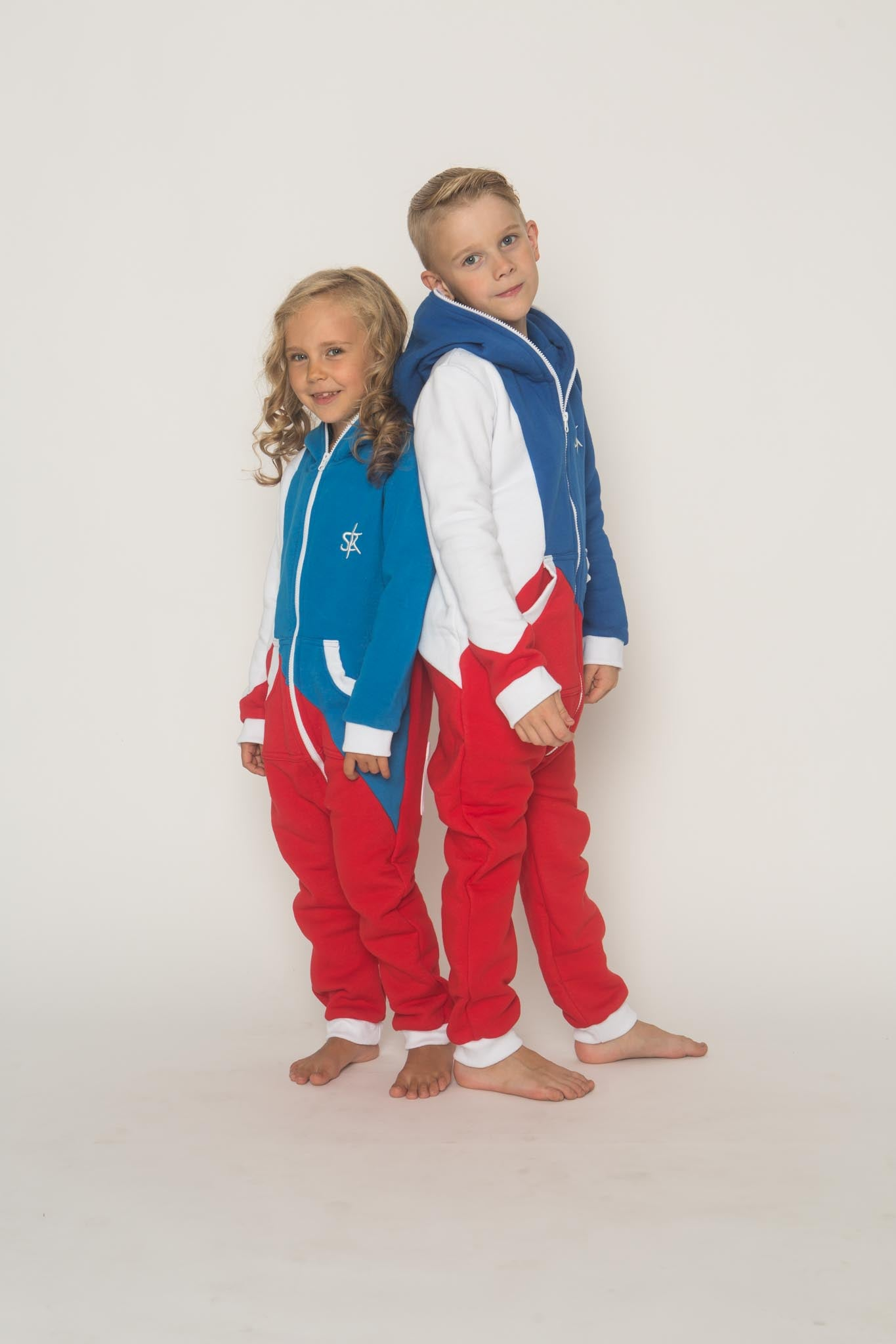 Sofa Killer tricolor unisex kids onesie Europe