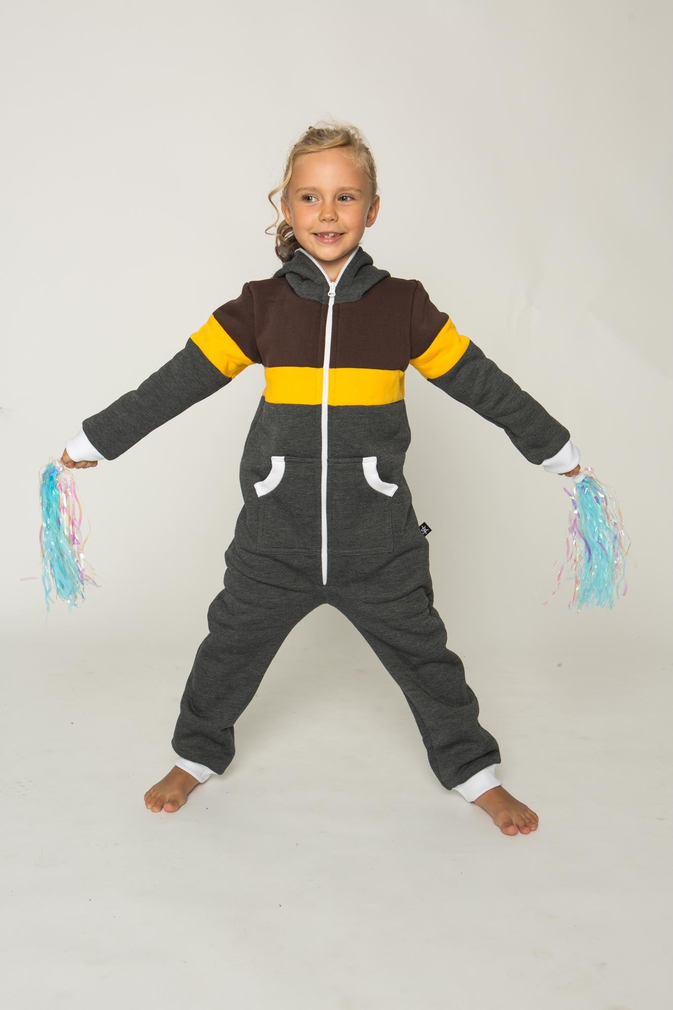 Sofa Killer tricolor unisex kids onesie GYL