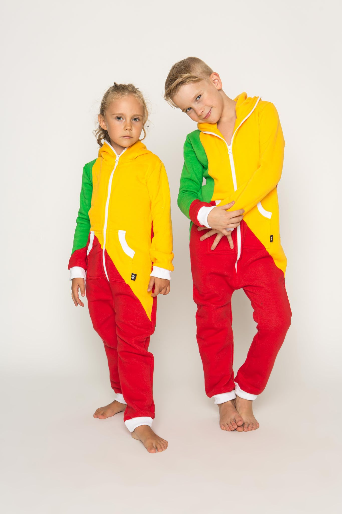 Sofa Killer tricolor unisex kids onesie LTU