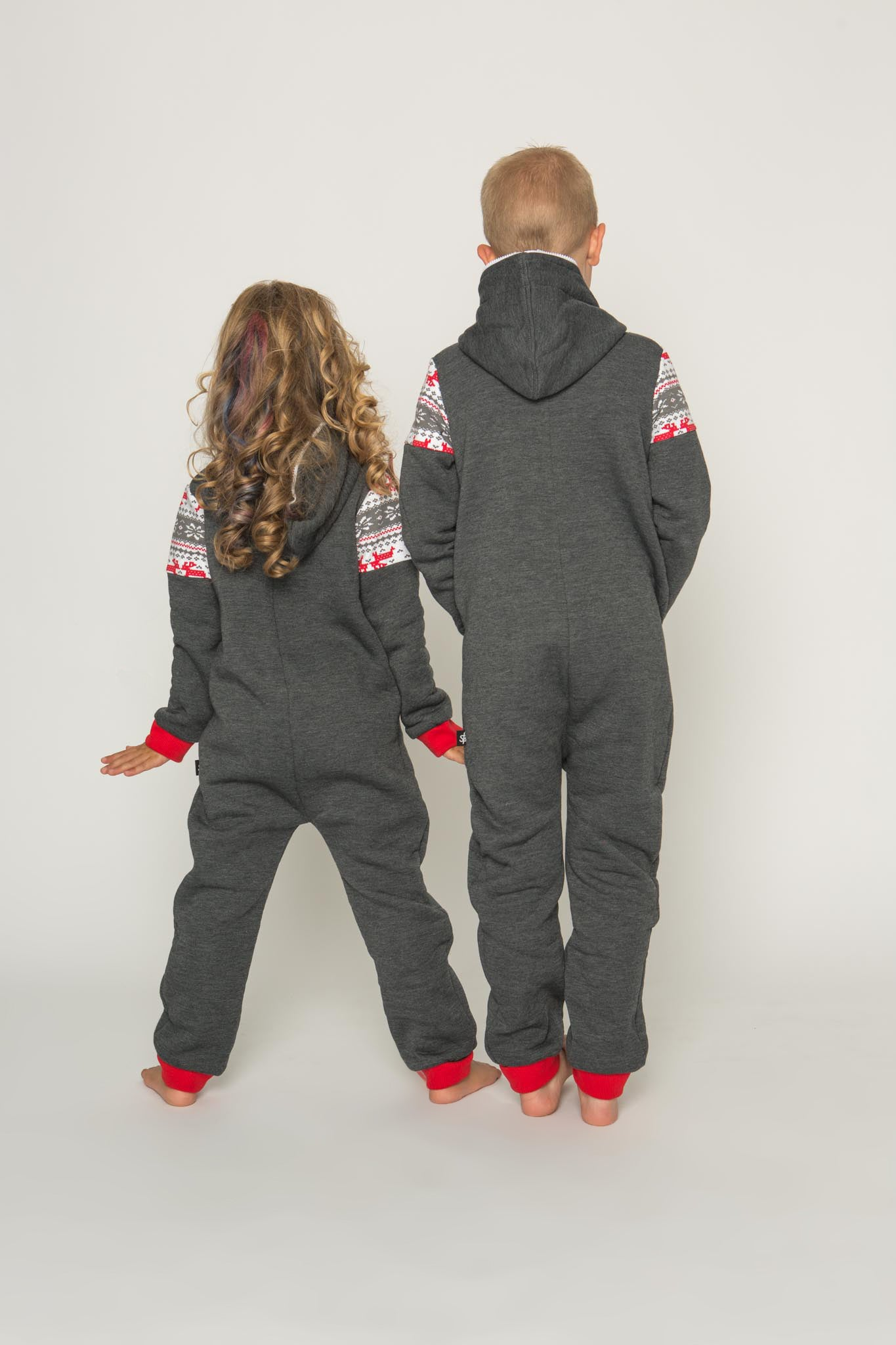 Sofa Killer dark grey unisex kids onesie Nordic