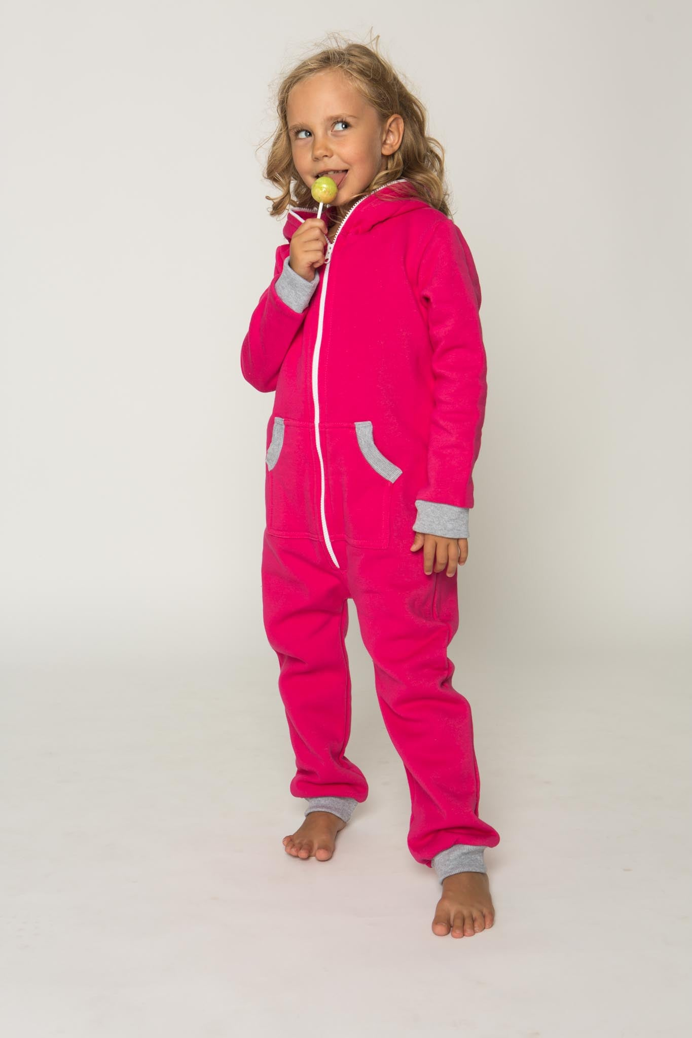 Sofa Killer pink unisex kids onesie