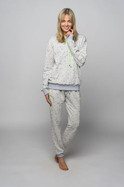 grey women loungewear