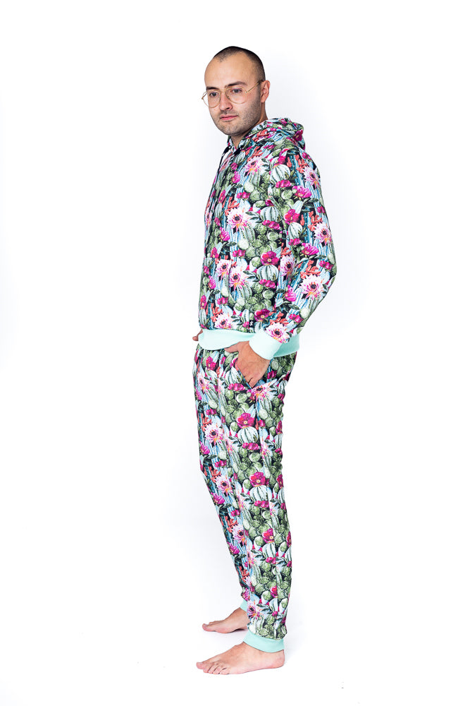 Sofa Killer cozy men lounge wear Cactus