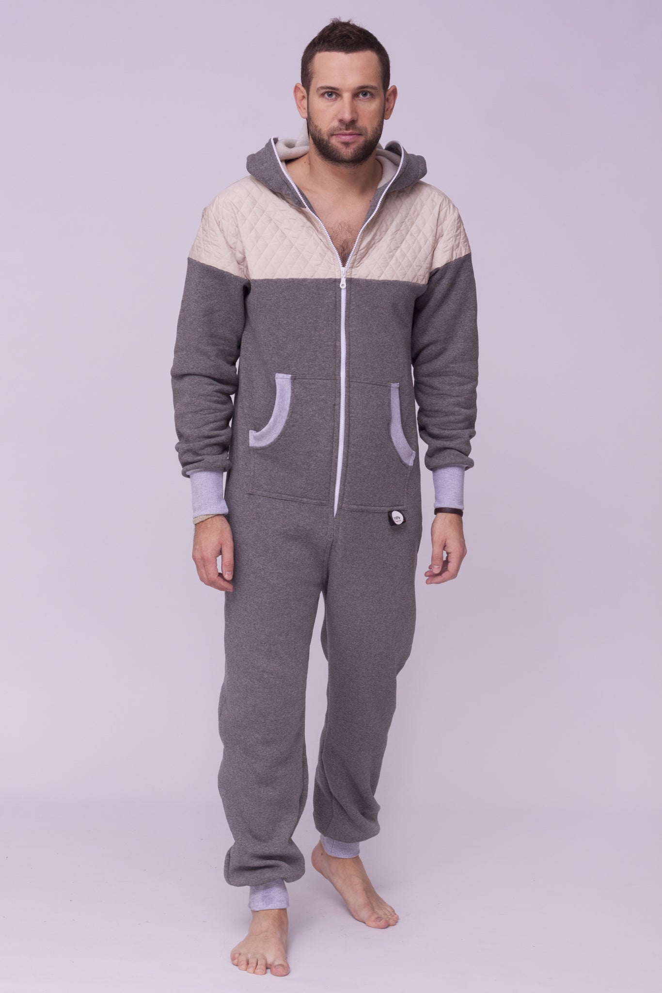 grey men onesie