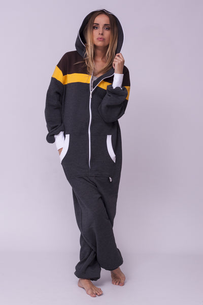 grey women onesie
