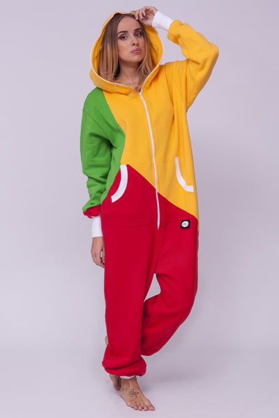 colourful women onesie