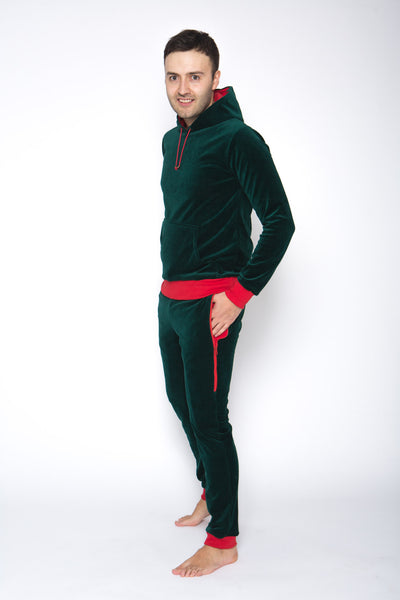 velours men loungewear
