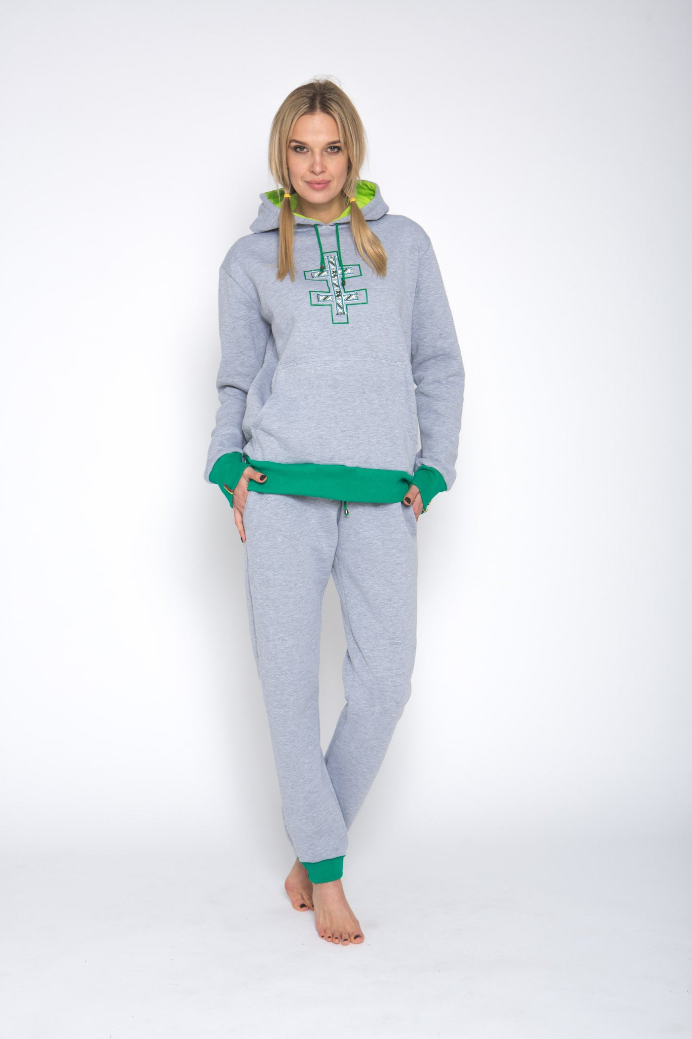 light grey color loungewear