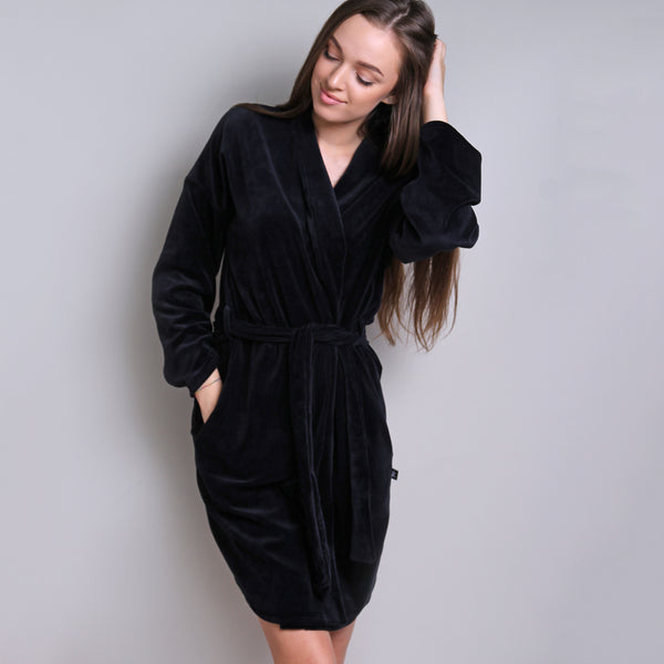 Sofa Killer black velours robe