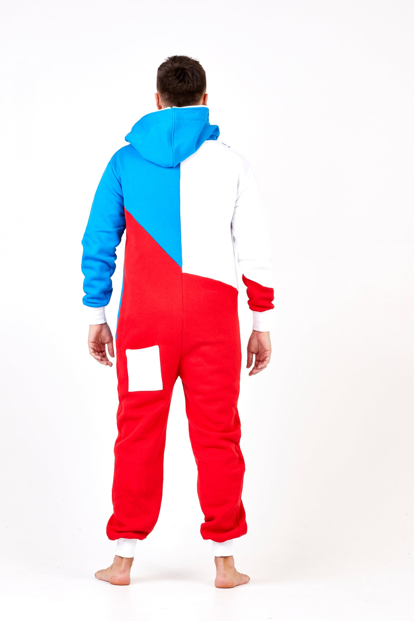 tricolor onesie europe sofa killer