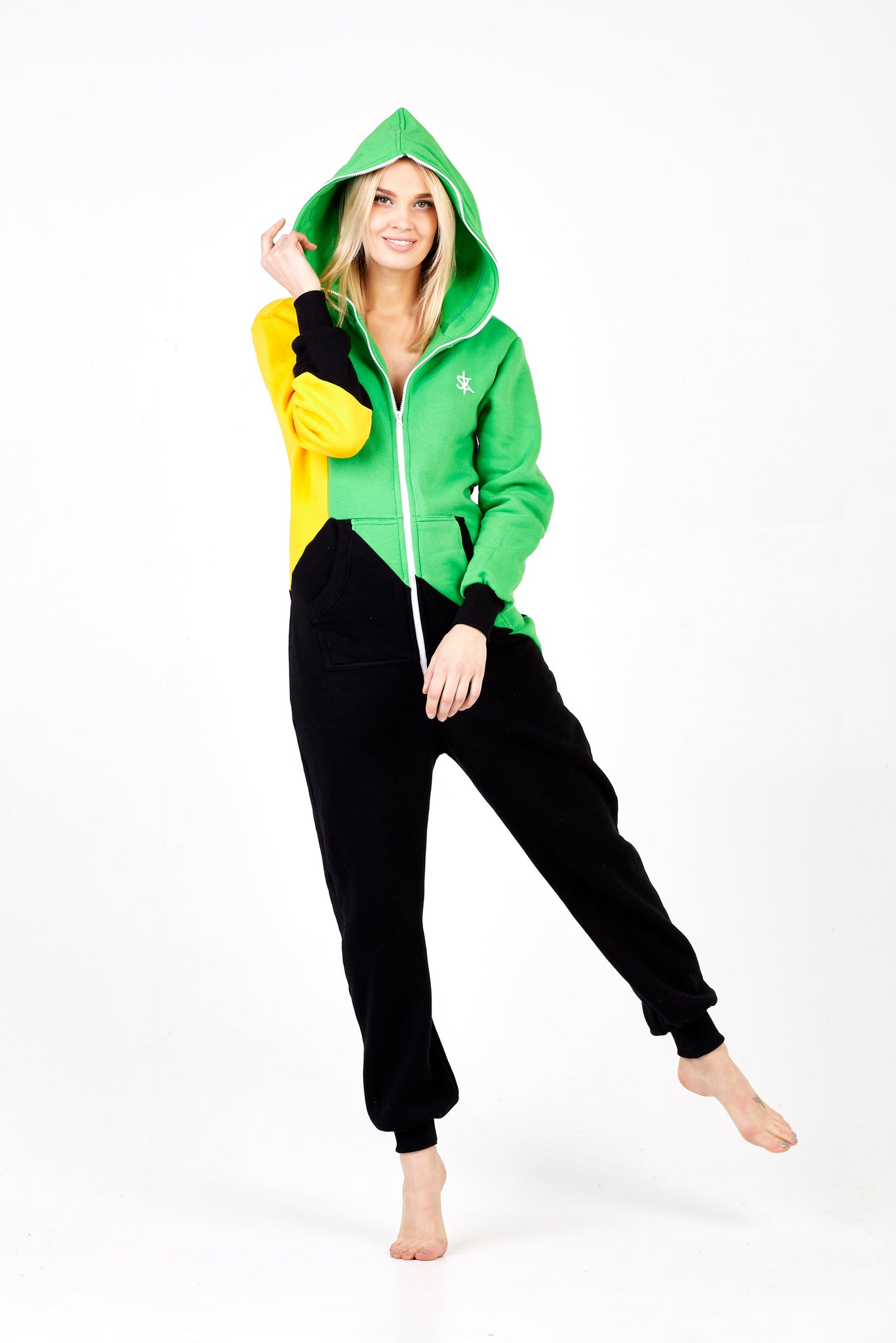 Tricolor Onesie Jamaica Sofa Killer